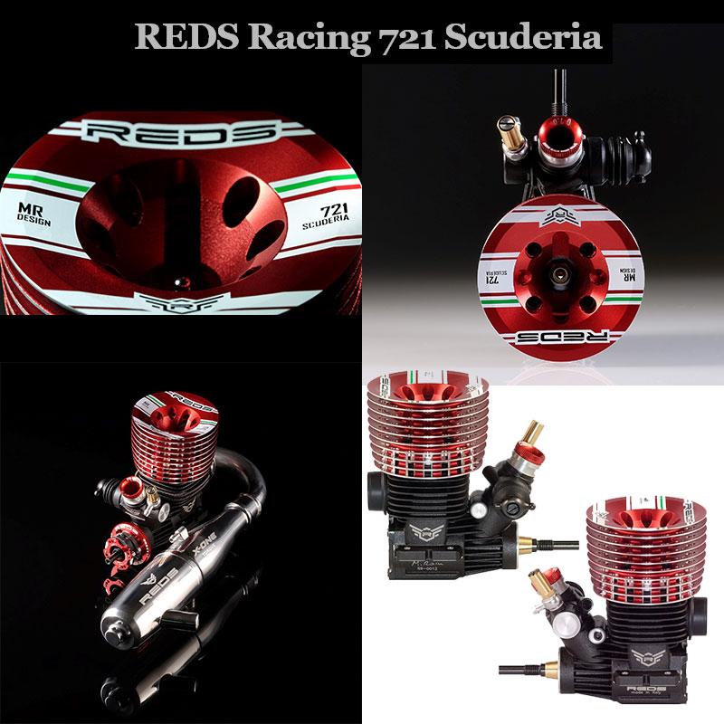 REDS ENBU0021 721 Scuderia(スクーデリア)1/8バギーエンジン
