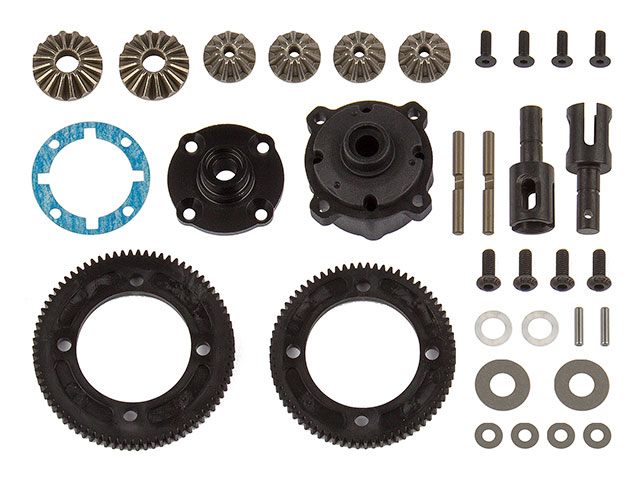 ASSOCIATED 92129 RC10B74 Differential Set, center