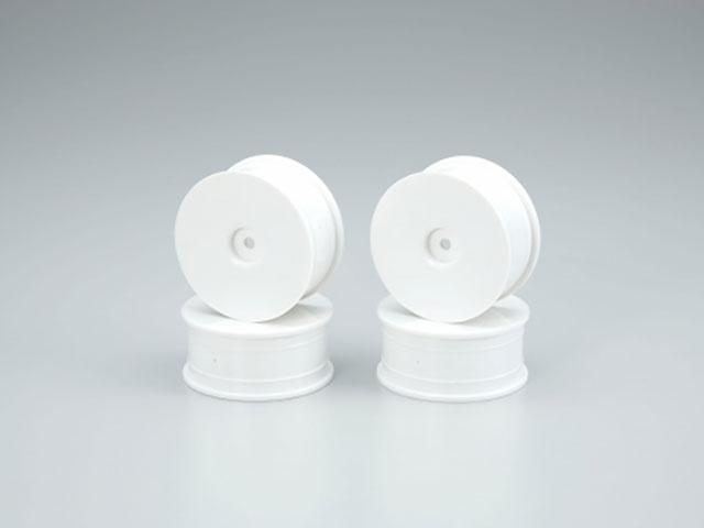 AMR AMR-92017-4W ディッシュホイールセット(ホワイト/24mm/4Pcs)