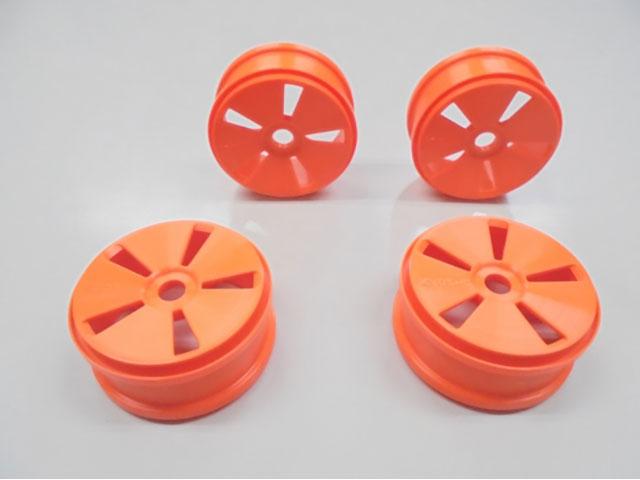 AMR AMR-IFH001KO ディッシュホイール (蛍光オレンジ/4PCS)