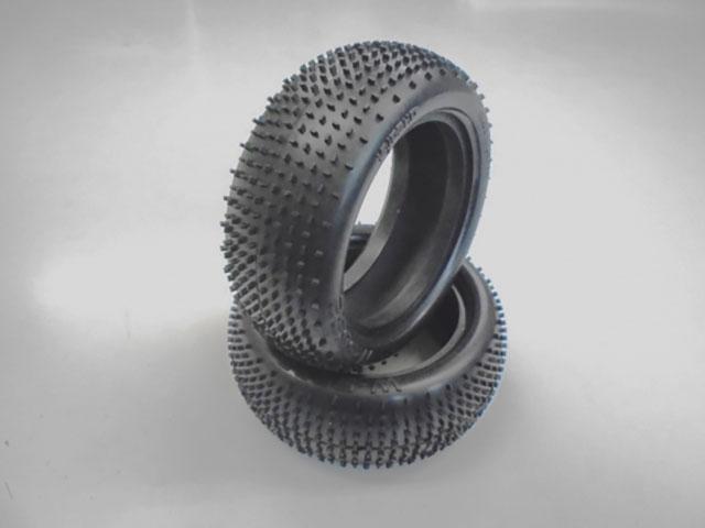 AMR AMR-W5603 マイクロブロックハイトラクションナロータイヤ (4WDフロント/2PCS)1/10用