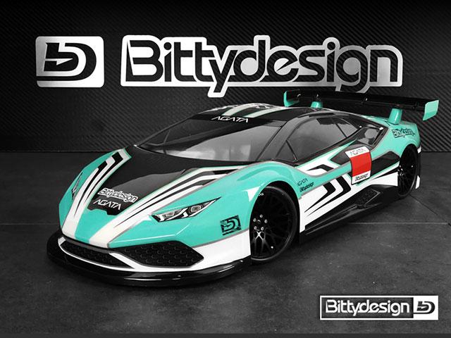 Bittydesign BDGT-190AGT AGATA 1/10GTクリアーボディ190mmライトウェイト