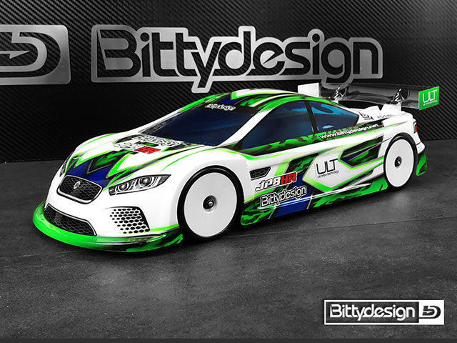 Bittydesign BDTC-HRULT JP8HR EPツーリング用クリアーボディ【ウルトラライトウェイト/190mm】