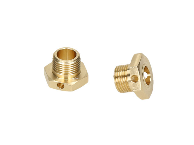 HB RACING HB204479 Brass Wheel Hex Hub 2pcs (Narrow)