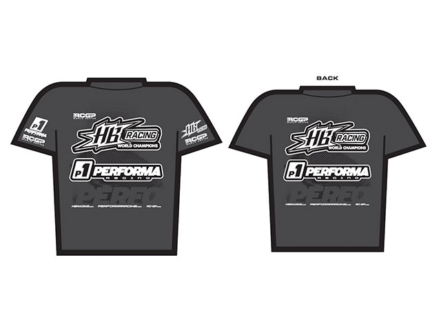 HB HB204558 HB RACING HB Racing Performa RCGP T-Shirt (L)