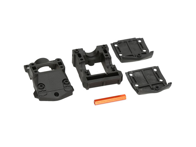HB RACING HB204564 D418 Rear Gear Box Set (For High Grip Track)