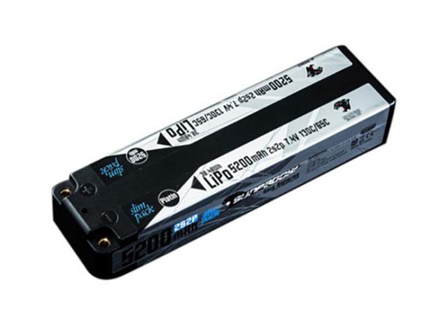 SUNPADOW JD0002 7.4V / 5200mAh / 130C Platinリポバッテリー