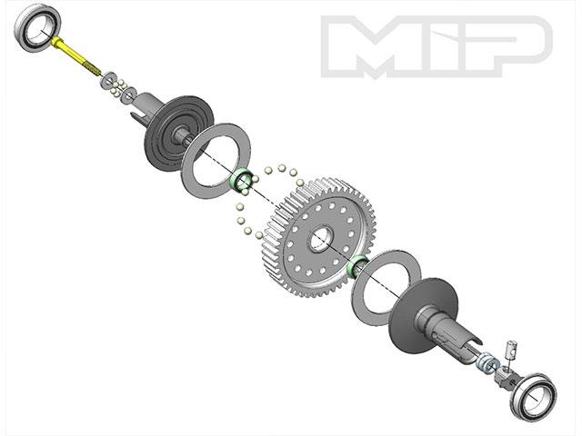 MIP M-16210 MIP スーパーボールデフ(タミヤ ブラックフット・スバルブラット・マイティフロッグなど)