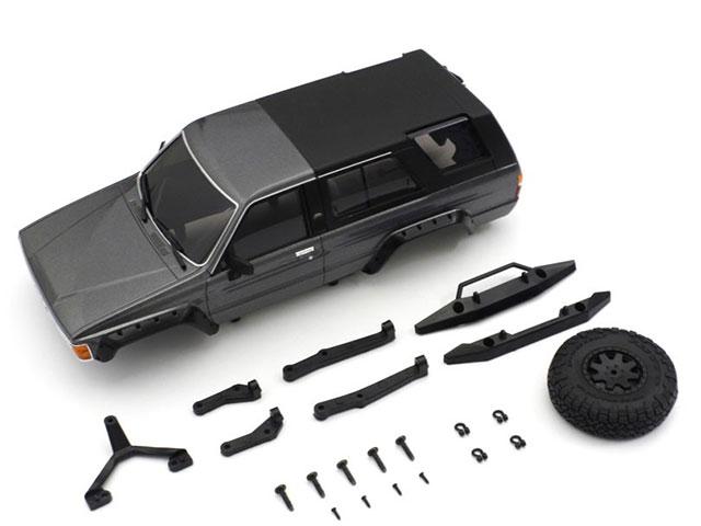 KYOSHO MXB02GM MX-01 トヨタ 4ランナー ボディセット ダークグレーメタリック