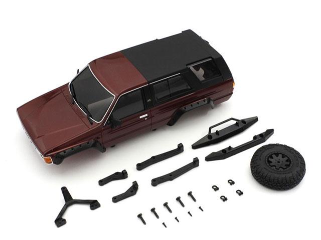 KYOSHO MXB02MR MX-01 トヨタ 4ランナー ボディセット メタリックレッド