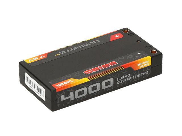 TEAM ORION ORI14502 Ultimate Graphene HV Lipo Shorty 4000 LCG 7.6V 120C