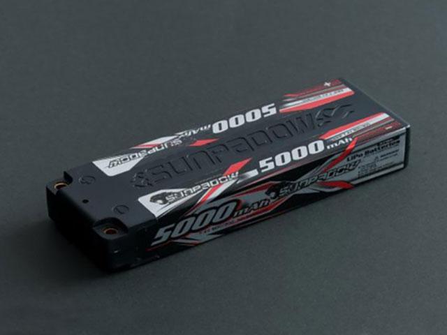 SUNPADOW S650002 7.4V / 5000mAh / 60C リポバッテリー