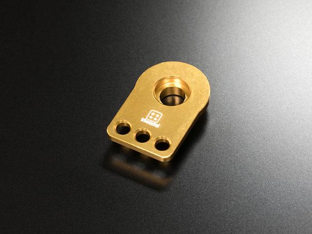 T4WORKS T4-SH01GD アルミCNC強化サーボホーン(3穴/ゴールド)