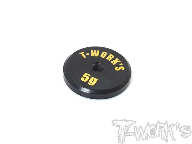 TEAM AJ TA-066L T-Work's 低重心バランシングウエイト【5g/真鍮製】