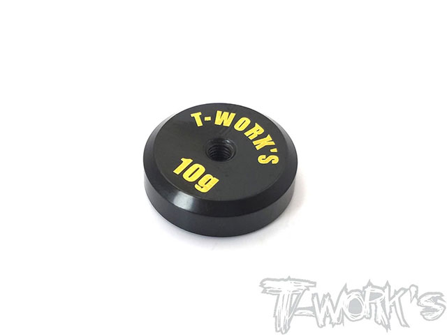 TEAM AJ TA-067L T-Work's 低重心バランシングウエイト【10g/真鍮製】