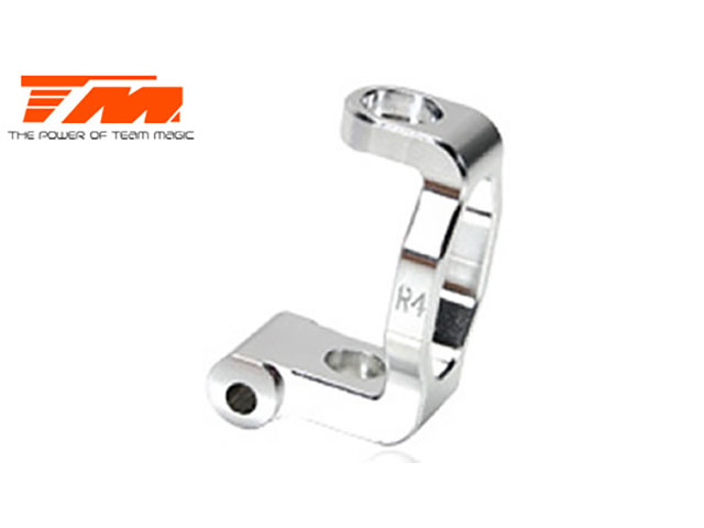 TEAM MAGIC TM507135 Aluminum 7075 - Caster Block Right (4 Degree)