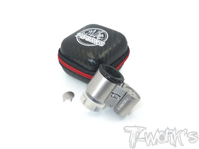 TEAM AJ TT-057-T T-Work's ターボプラグ用ルーペ【50倍率/LEDライト付】