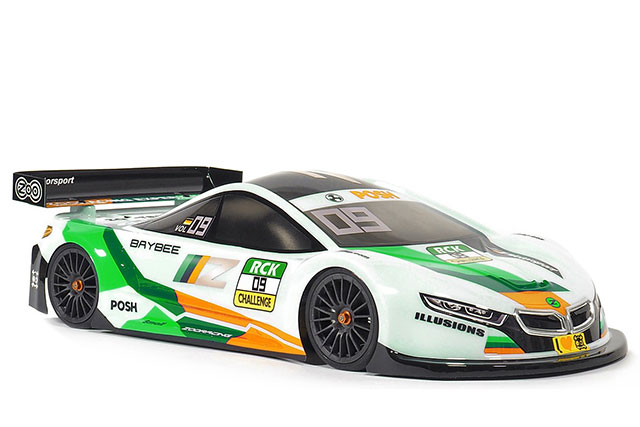 RC-MISSION ZR-0009-05 ZooRacing ベイビー 1/10EPツーリング用ボディー【0.5mm】