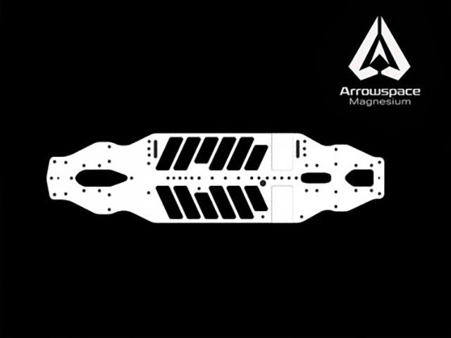 ARROWMAX AR-900003 ARROWMAX マクネシウムシャーシ(エクストラフレックス)【XRAY T4 2019用】