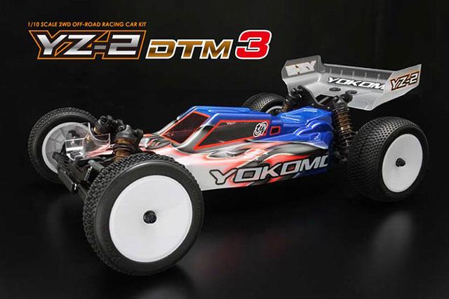 YOKOMO YZ-2 DTM3ライアン メイフィールド仕様2WDオフロードカーKIT