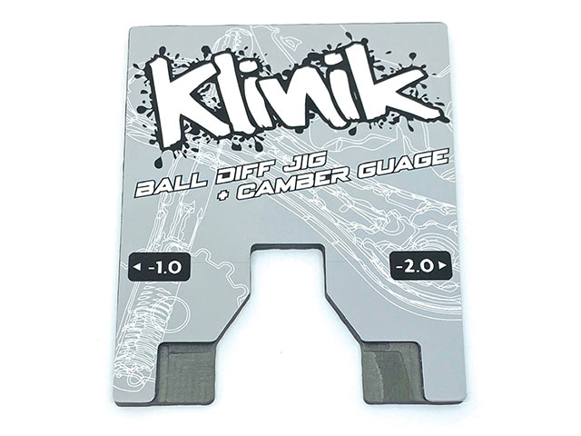 Schumacher KRC-DIFFCAMBER ボールデフジグ+キャンバーゲージ