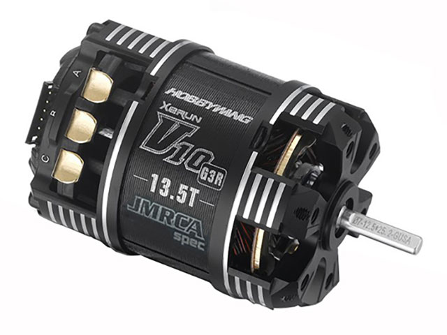 HOBBYWING HW30401127 XeRUN V10 G3R ブラシレスモーター 13.5T JMRCA公認
