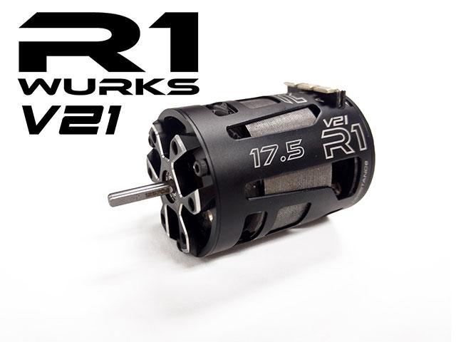 R1 WURKS R1-175-15-V21-ROAR **ROAR** R1 WURKS 17.5T V21 ROAR MOTOR