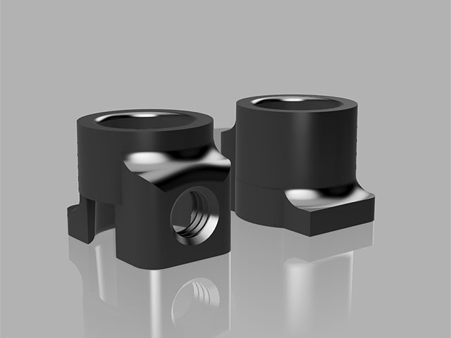 TEAM AJ 3D-FRAH FUTABA R334SBS-E用アンテナ強化ホルダー【2個入】