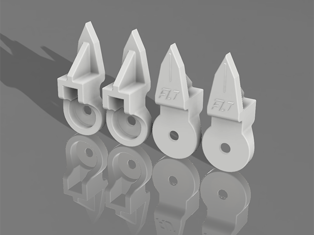 TEAM AJ 3D-ACF-H キャスターフィンガー・4ヶ入【オーソマティックスA800・A700系/Hudy セットアップシステム用】