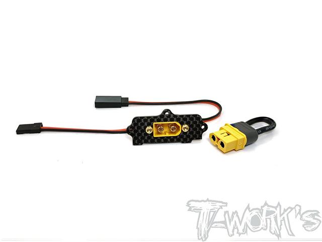 TEAM AJ EA-031-XT60 コネクタースタイルスイッチ【MP10/MP9 TKI4/TKI3/GT3用