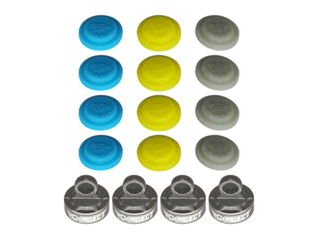 RICKSIDE DESIGN RCPJ-MSMBX8-001 Shock Cups for Mugen Seiki MBX8