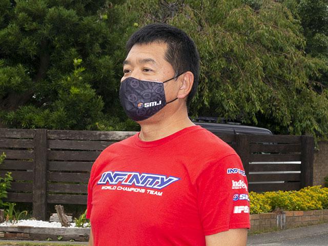 SMJ SMJ1301 SMJ チームフェイスマスク(ブラック)