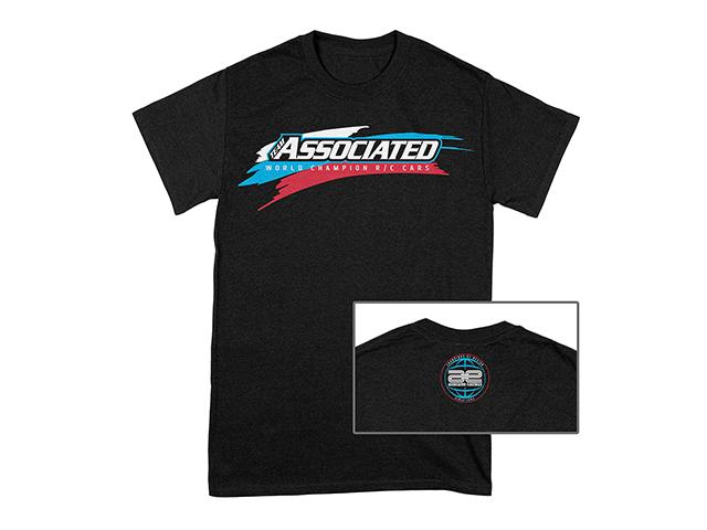 ASSOCIATED SP132S Team Associated WC19Tシャツ【ブラック・Sサイズ】