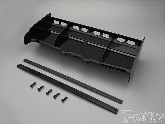TEAM AJ TO-308-BK T-Work's エアーフロー1/8GPバギー用ウイング【ブラック】
