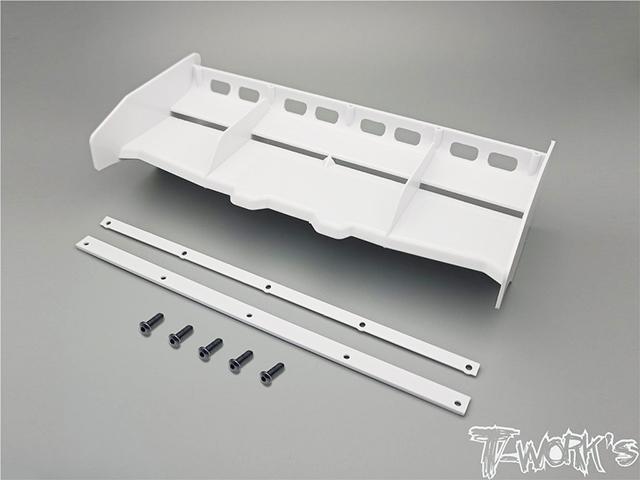 TEAM AJ TO-308-W T-Work's エアーフロー1/8GPバギー用ウイング【ホワイト】