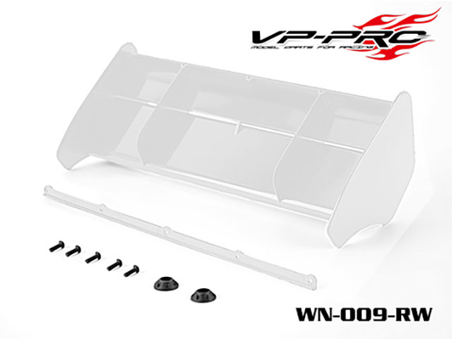 RICKSIDE DESIGN WN-009-W 1/8 Buggy/Truggy Wing (White)