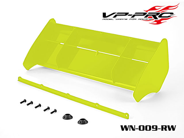 RICKSIDE DESIGN WN-009-Y 1/8 Buggy/Truggy Wing(Yellow)