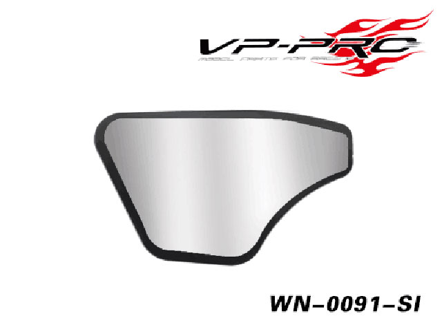 RICKSIDE DESIGN WN-0091-SI 1/8 Buggy/Truggy Rear Wing Sticker(Silver/WN-009シリーズ用)