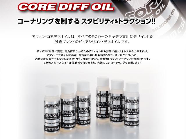 AXON CA-DO-013 CORE DIFF OIL 9000cst
