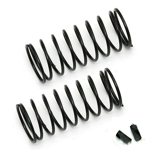 ASSOCIATED 91326 FT 12 mm Front Springs, black, 3.00 lb/in