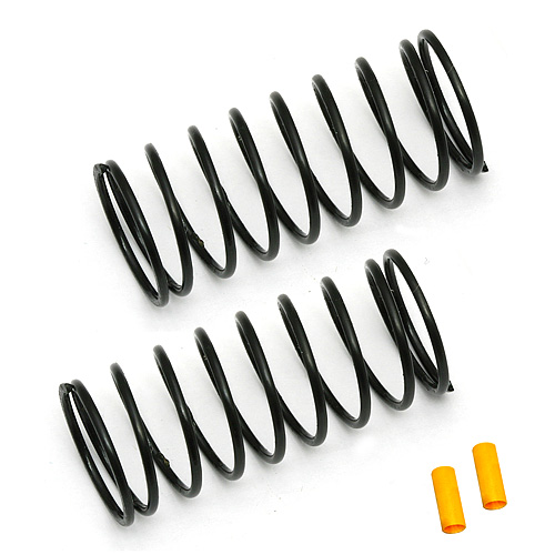 ASSOCIATED 91331 FT 12 mm Front Springs, yellow, 3.75 lb/in