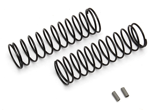 ASSOCIATED 91338 FT 12 mm Rear Springs, gray, 2.20 lb/in