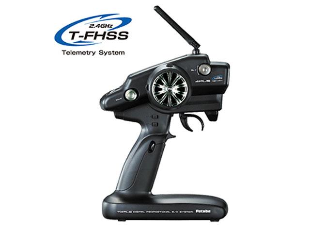 FUTABA 00008437-3 T4PLS(T-FHSS) T/Rセット+送信機乾電池仕様+R304SB-E (T-FHSS