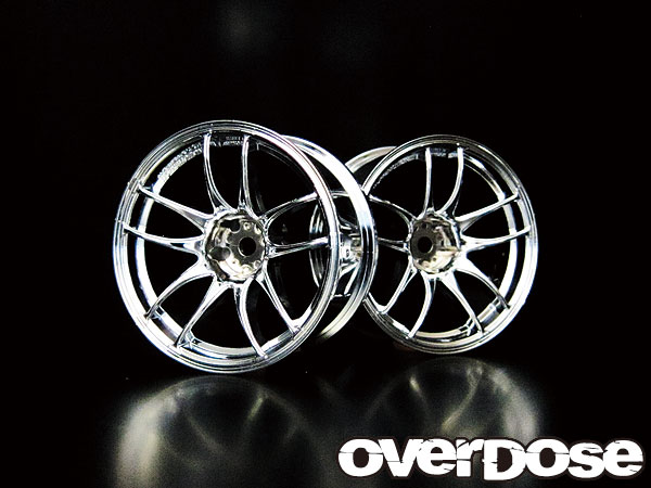 OVERDOSE OD1074 WORK EMOTION CR Kiwami 【ハイクローム/OFF 5mm/2pcs】