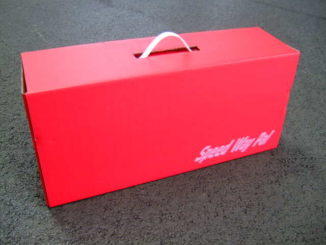Speed Way Pal PE018 ドリフトカーBOX(赤)