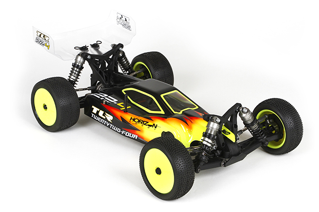 TEAM LOSI TLR03005 22-4(トゥエンティートゥーフォー)レーシング 4WD バギーキット【限定特価】
