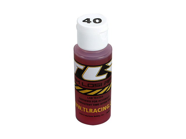 TEAM LOSI TLR74010 Silicone Shock Oil 40 wt 2 oz