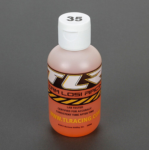 TEAM LOSI TLR74024 Silicone Shock Oil 35WT 4oz