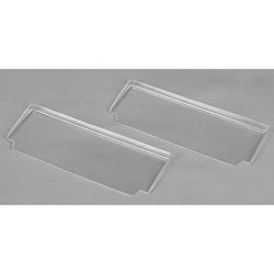 TEAM LOSI TLR8120 Rear Spoiler Clear (2) 22T/RTR