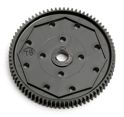 ASSOCIATED 9652 Spur Gear, 78T 48P